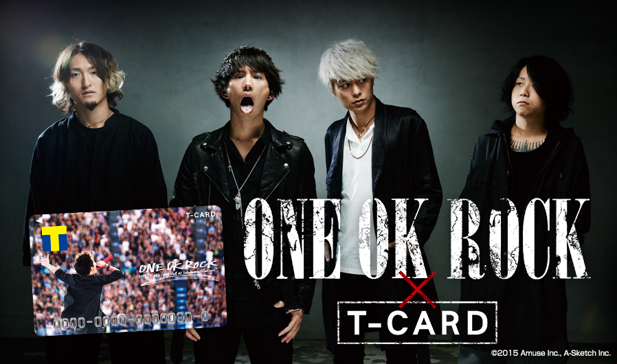 ONE OK ROCK×Tカード