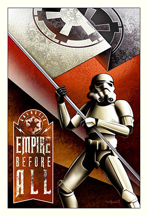 《Empire Before All》Mike Kungl/STAR WARS and related properties are trademarks and/or copyrights, in the United States and other countries, of Lucasfilm Ltd. and/or its affiliates. (C) & TM Lucasfilm Ltd.