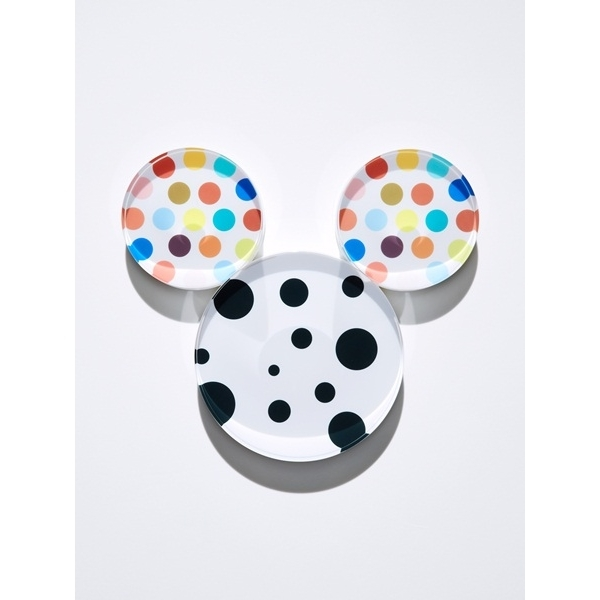 Mouse by Dots.plastic, ink in plastic, 260 x 228 x 50 mm, 2014