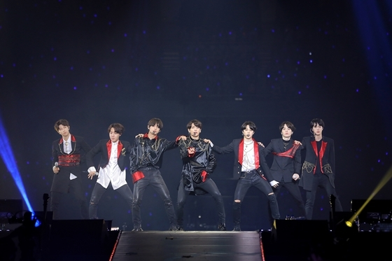 BTS(防弾少年団)日本オフィシャルファンミーティングツアー『BTS JAPAN OFFICIAL FANMEETING VOL.4 ~Happy Ever After~』の様子 (c) Big Hit Entertainment