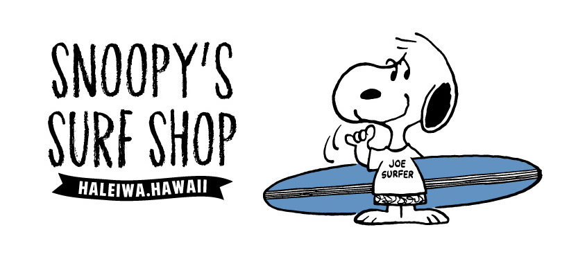 SNOOPY'S SURF SHOP