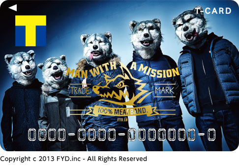 MAN WITH A MISSION×Tカード